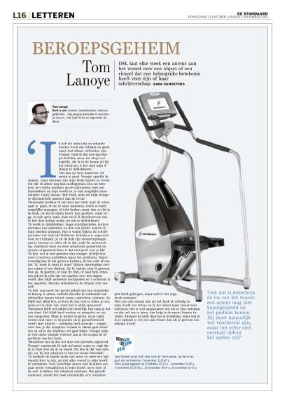 Het lichaam van Tom Lanoye