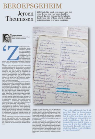 De lijstjes van Jeroen Theunissen #beroepsgeheim #dsl