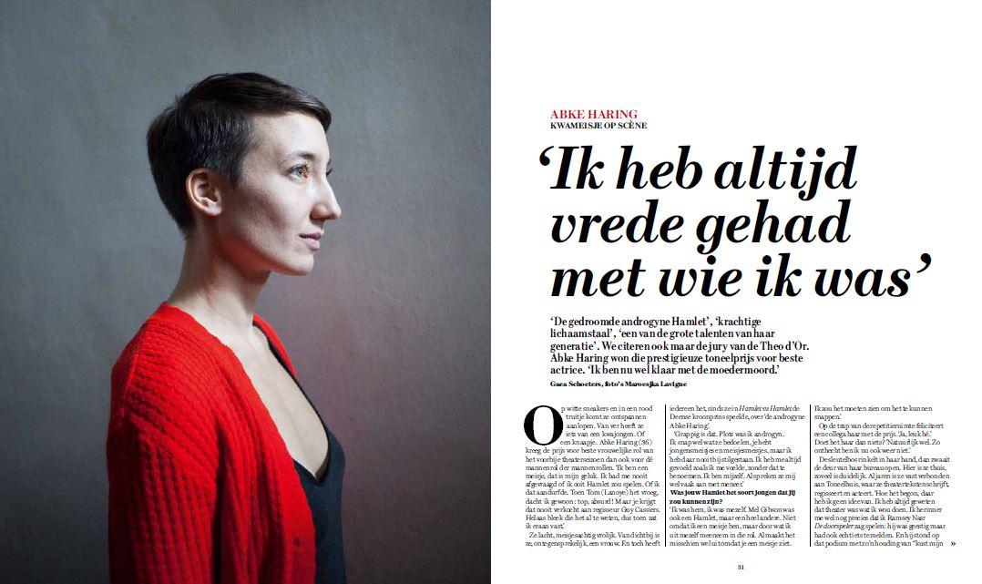Abke Haring vs. Abke Haring #DSWeekblad