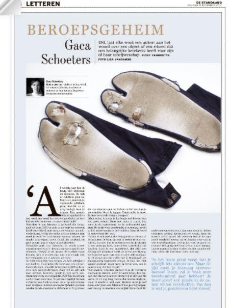 de tabi's van Gaea Schoeters #Beroepsgeheim