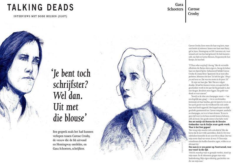 Talking Deads #DSWeekblad #CaresseCrosby