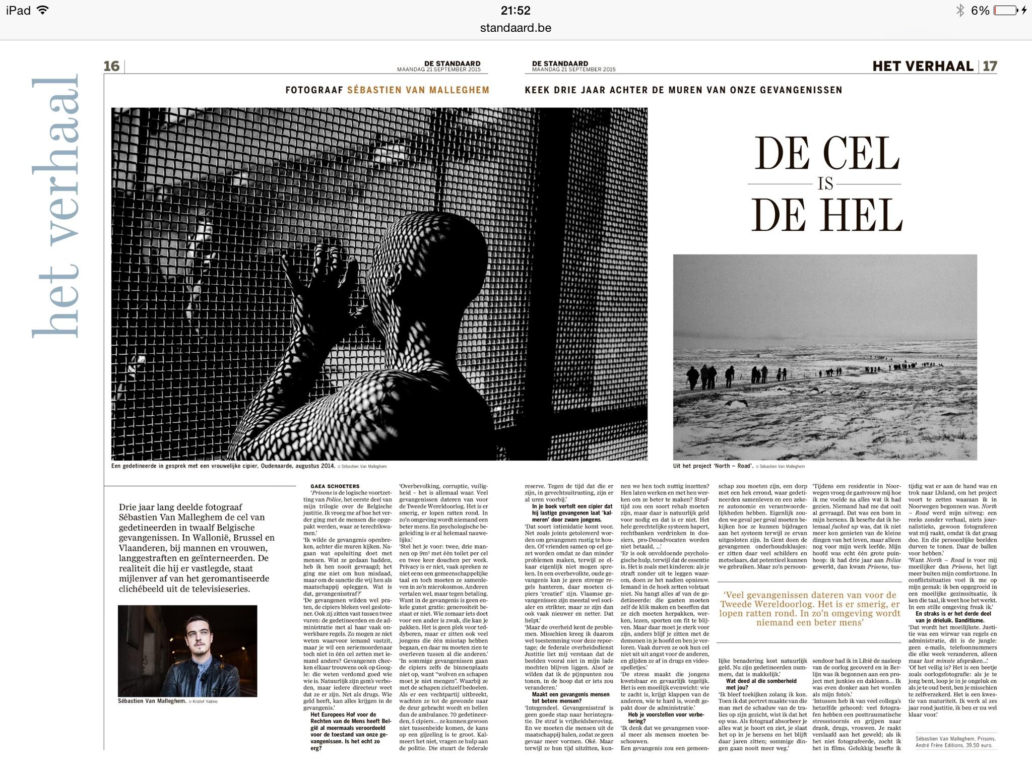 De cel is de hel – Sébastien van malleghem #ds #XL-versie