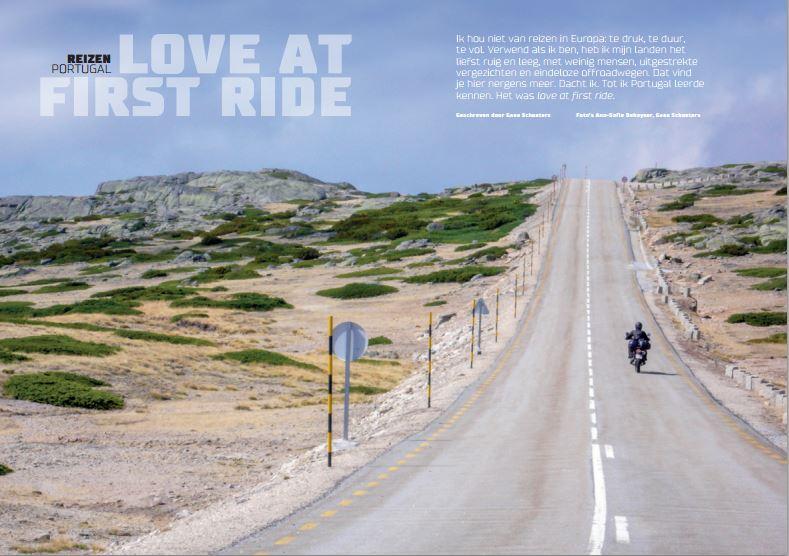 Love at first ride #Portugal #Motorrijder
