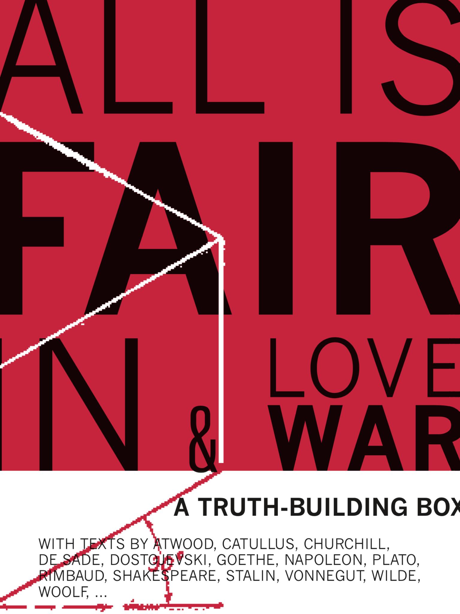 all is fair (in love & war) – muziektheater – 2019 (#multilingual)