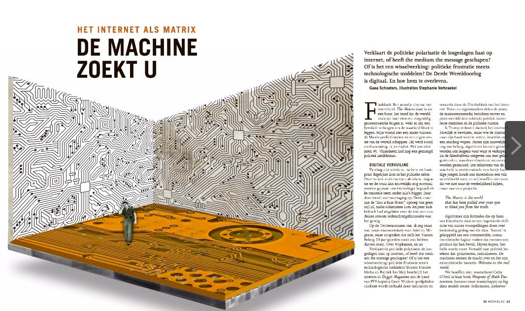 de machine zoekt u #DSWeekblad