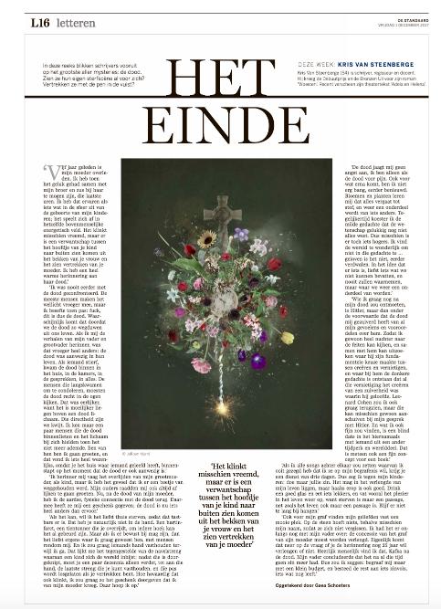 Kris Van STEENBERGE #HETEINDE #DSL