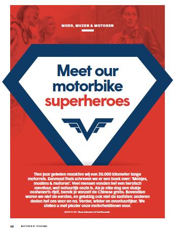 Our MMM Superheroes (Meisjes, Moed & Motoren) #M&T