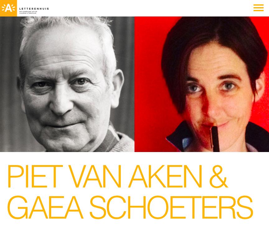 Piet Van Aken – 10×100 #Letterenhuis